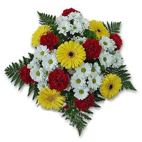 Букеты из цветов из лент своими руками